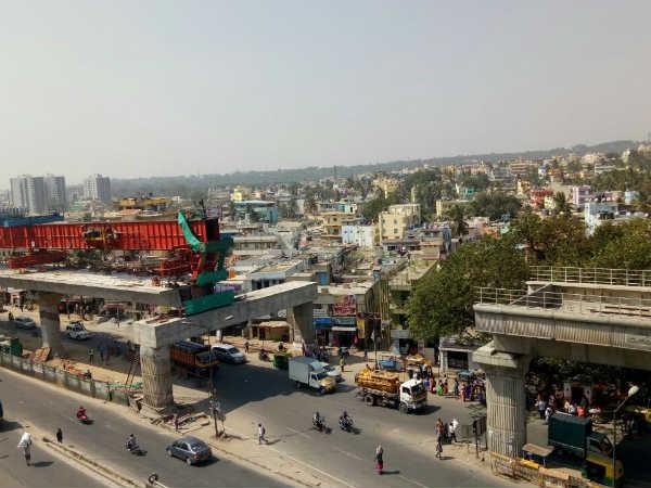 ಮೆಟ್ರೋ-2 ಕಾಮಗಾರಿ: ನಿಗದಿತ ವೇಳೆಗೆ ಪೂರ್ಣ ನಿರೀಕ್ಷೆ