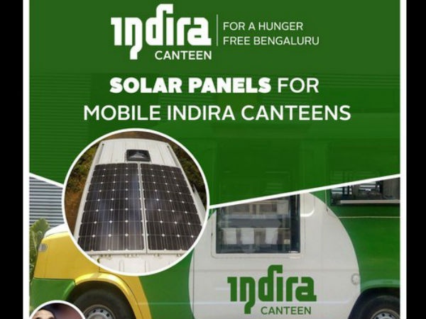 Mobile Indira Canteens Will Launch On R Day