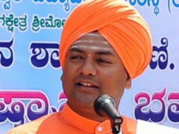 Congress Planing To Give Ticket To Swamiji