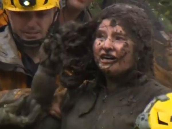 California Brutal Mudslides Viral Videos On Twitter