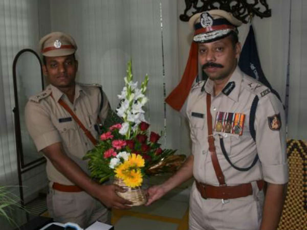 S Murugan takes over as the Northeast zone IGP