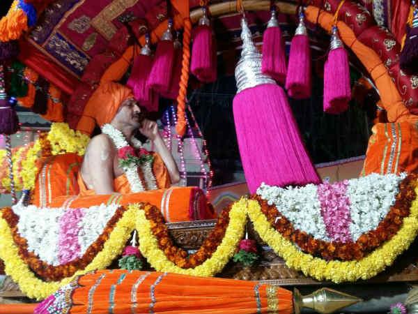 Udupi Palimar Seer Paryaya Religious Activity Procession Highlights 2018