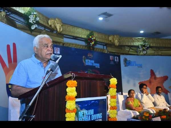 Scuba Festival Kick Starts In Netrani Island Uttara Kannada