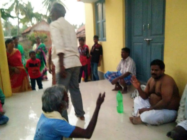 Priest caught with married woman by villagers