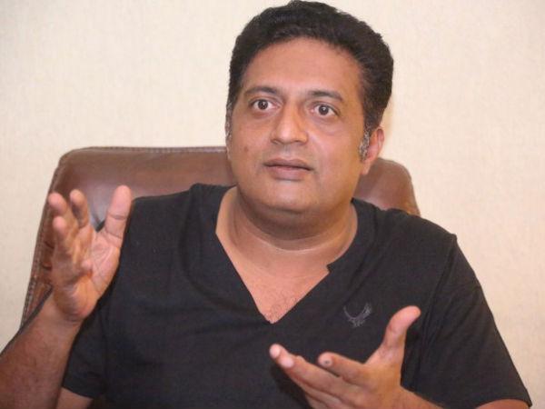 Bjp Members Cleanes Stage On Which Actor Prakash Rai Sat Down