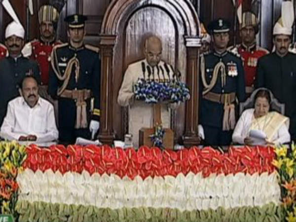 Union Budget Session President Ram Nath Kovind Speech Highlights