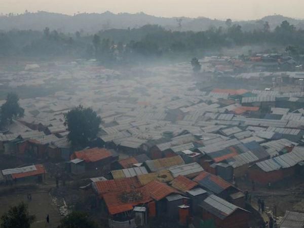 Bangladesh Fire At Rohingya Camp Kills