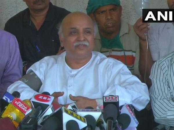 Plan Was Being Made To Kill Me In An Encounter Pravin Togadia