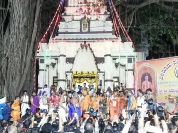 Live Udupi Paryaya Festival Begins