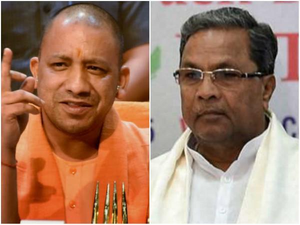 Up Cm Yogi Hits Back At Siddaramaiah Congress