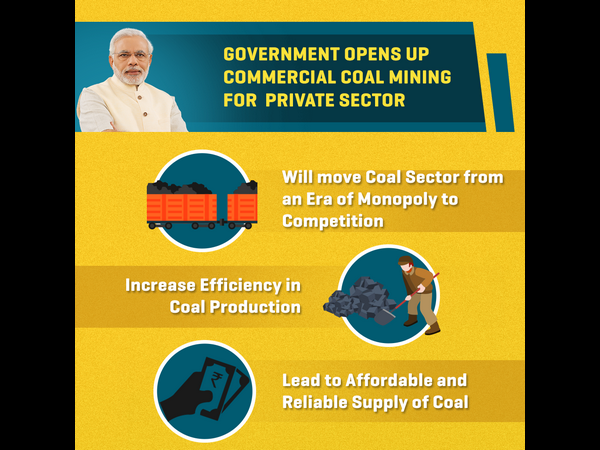 Government Opens Up Commercial Coal Mining For Private Sector