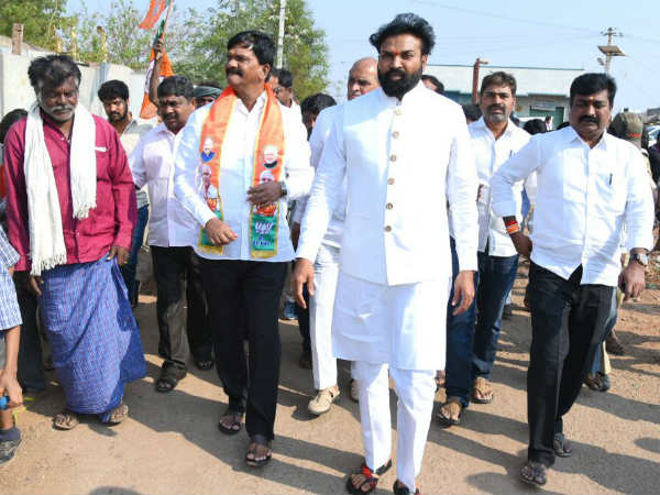 Sriramulu starts election campaign for BJP candidates