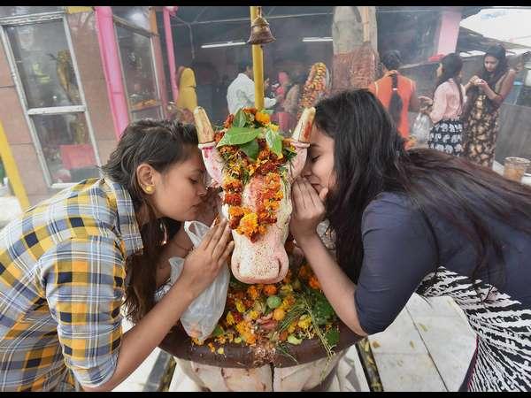 Pti Photo Feature With The Theme Of Maha Shivaratri