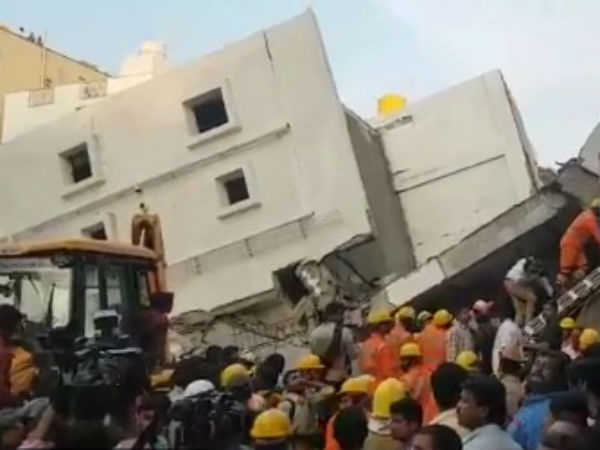 Buliding collapse: Death toll rises to Five