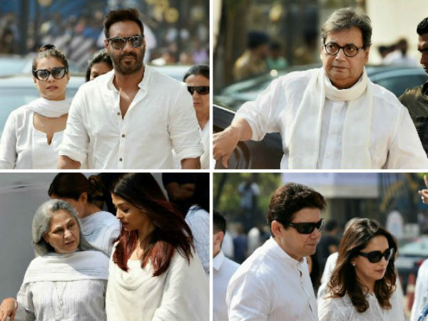 Actor Actress And Others In Sridevi Condolence Gathering
