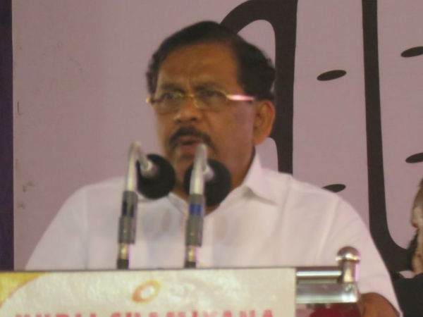 Look at UP, MP state crime rate, where BJP ruling: Parameshwar