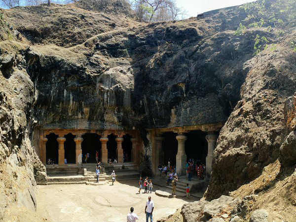 After 70 years of Independence electricity reaches Elephanta Caves