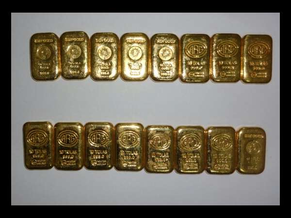 DRI officials seizes gold worth more than Rs 1 crore in Mangaluru