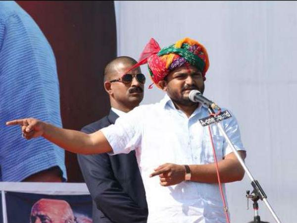 Rahul Gandhi Is Not My Leader Hardik Patel