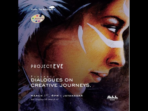 "Project Eve presents ""Dialogues on Creating Journey, an Art Exhibition by eminent women artists"
