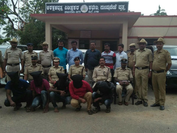 Gundlupet Police Arrested 5 Men In A Robbery Case