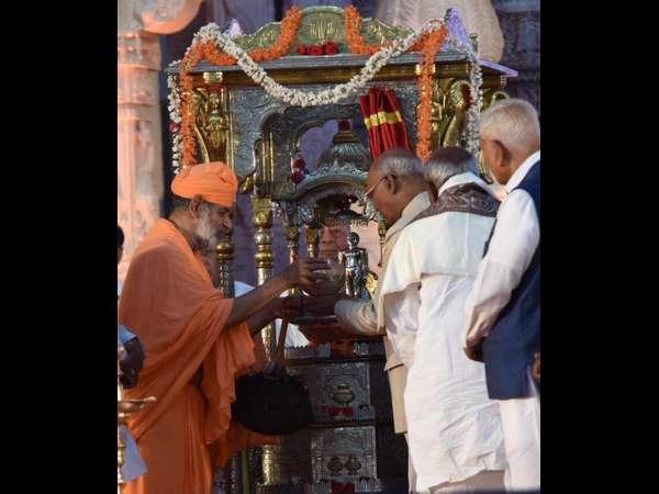 President Ramnath Kovind Inaugurates Mahamastakabhisheka