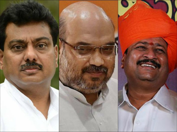 Elections 2018 Amit Shah Surprise Move Basanagouda Patil Vs Mb Patil