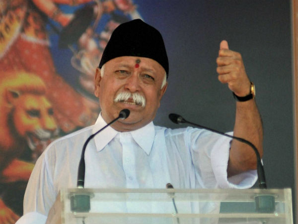 Youth Congress protests against RSS Chief's army remark despite clarification