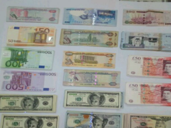 DRI officials seizes foreign currencies worth Rs 25.82 lakh in Mangaluru Airport