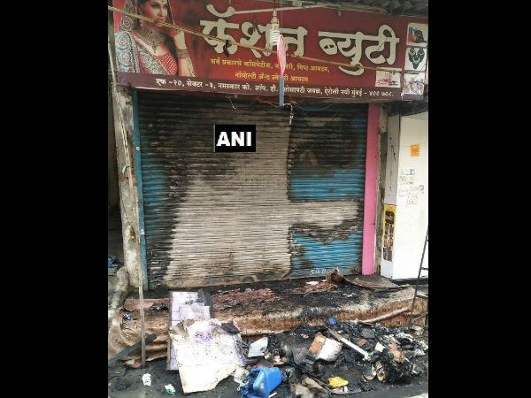 Mumbai Fire Broke In A Cosmetic Shop 2 Dead