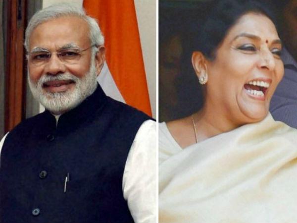 Renuka Chowdurys Laughter Reminds Me Ramayana Serial Narendra Modi