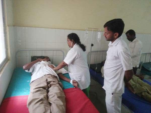 Daily Wage Workers Unwell In Piriyapattana