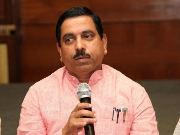 Threatening Letter To Bjp Mp Prahlad Joshi