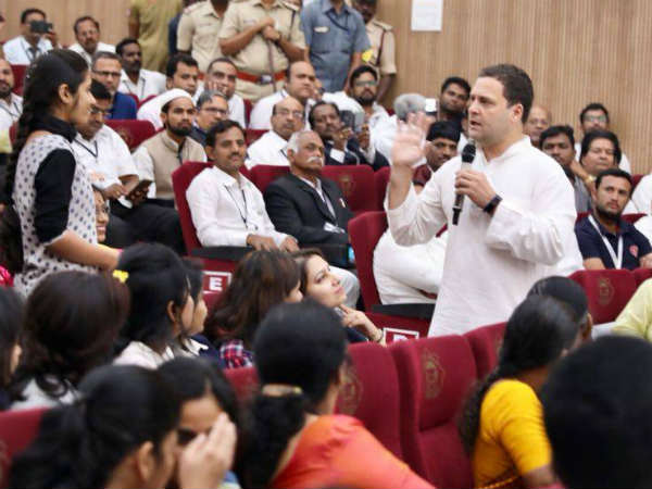 Rahul Gandhi lambasted on central government for listening to RSS advice