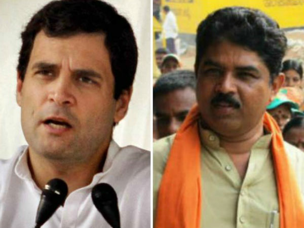 Rahul Gandhi should have spoken about Congress leaders culture in State, BJP leaders statement