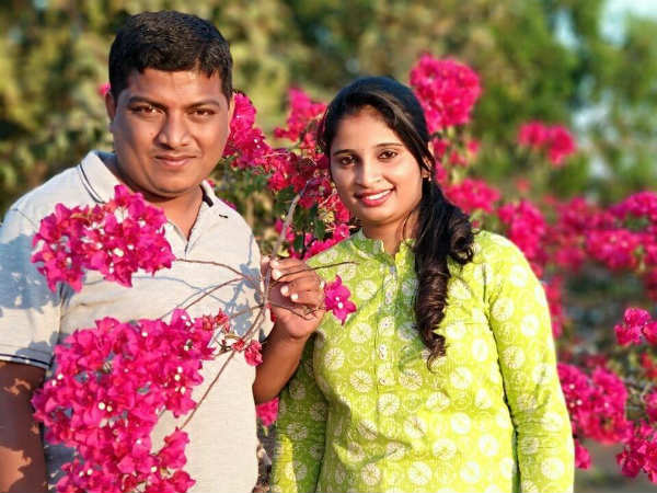 Wedding Anniversary Celebrated Differently By Sandeep Lavanya