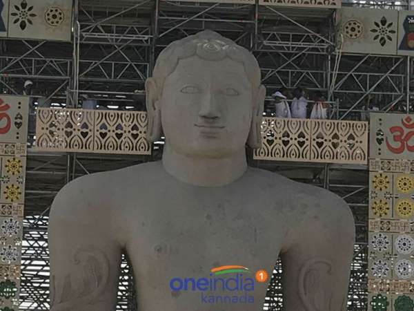 Mahamastakabhisheka In Shravanabelagola Begins In Grand Fashion