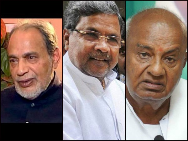 Who Is Guru Of Siddaramaiah Ramakrishna Hegde Or Hd Deve Gowda