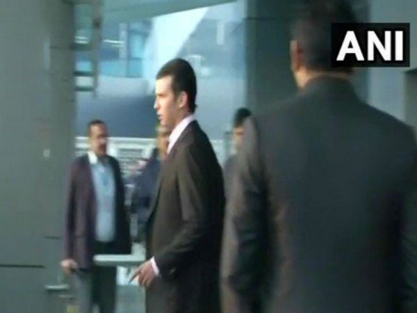 Donald Trump's son arrives in India for a week tour