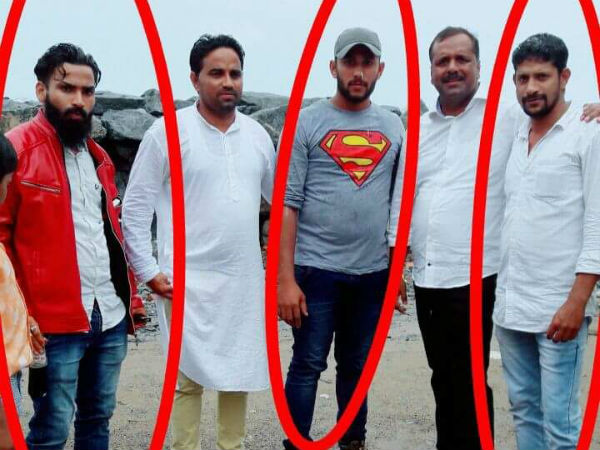 Illyas murder accused persons photo with minister Khader goes viral