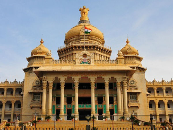 Bengaluru police took several steps to maintain peace on karnataka Budget day