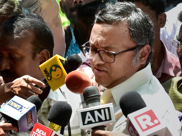 Karti S Arrest No One Is Above Law Says Bjp