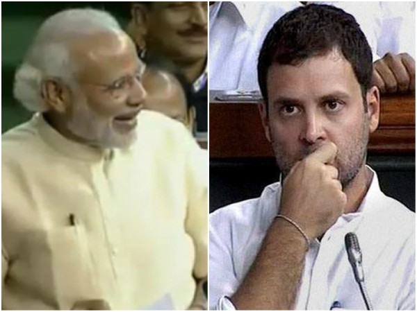 Congress Slogan Shouting During Pm Modi Speech Was Rahul Gandhi Idea