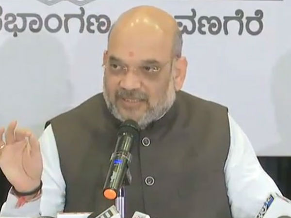 No alliance with JD(S), will fight independently on every seat, says Amit Shah