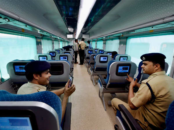 Poor Response For Anubhuti Coaches In Shatabdhi Rail