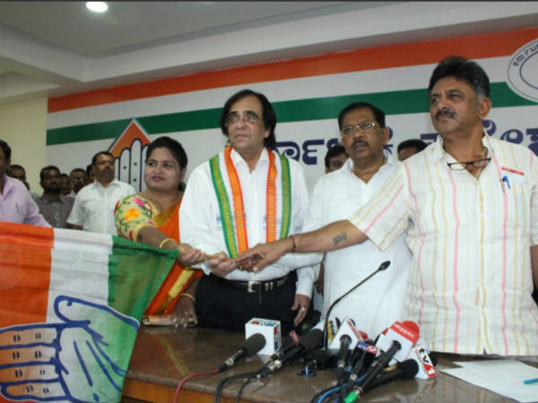 Ashok Kheny Joins Congress