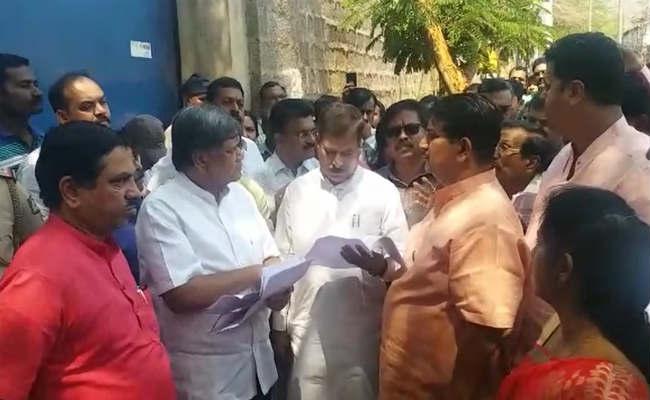 Bjp State Leaders Visits Illegal Slaughter House Belgavi