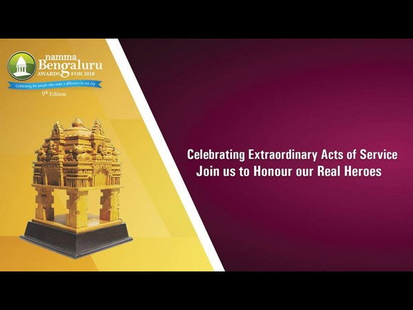 Namma Bengaluru awards ceremony on Sunday