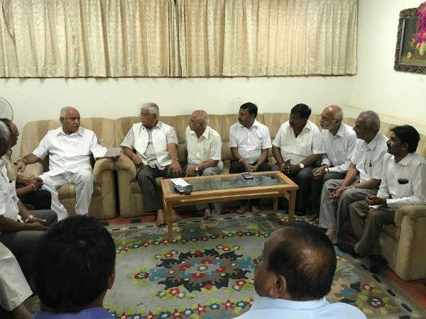 Veerashaiva Leaders Demand To Announce Tumkur Urban Ticket Urgently