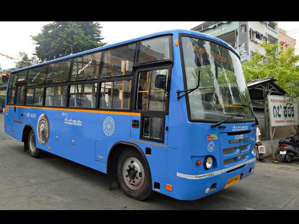 Request Stop Women In Bmtc Buses